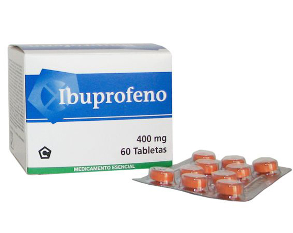 Ibuprofeno en tu botiquín de primeros auxilios