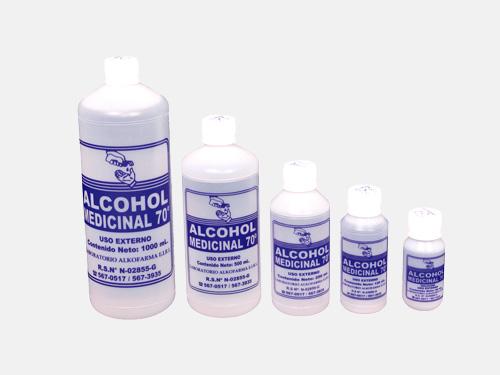 Alcohol etílico al 70% en tu botiquín